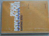 Musil - Speciální psychologie - Pedagogicko psychologické kompetence učitele 1 (2001)