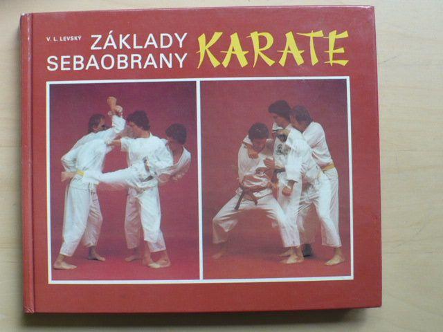 Levský - Základy sebeobrany - Karate (1988) slovensky