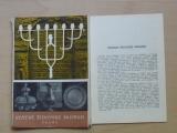 Státní židovské muzeum Praha - Pressfoto, 13 fotografií v obálce