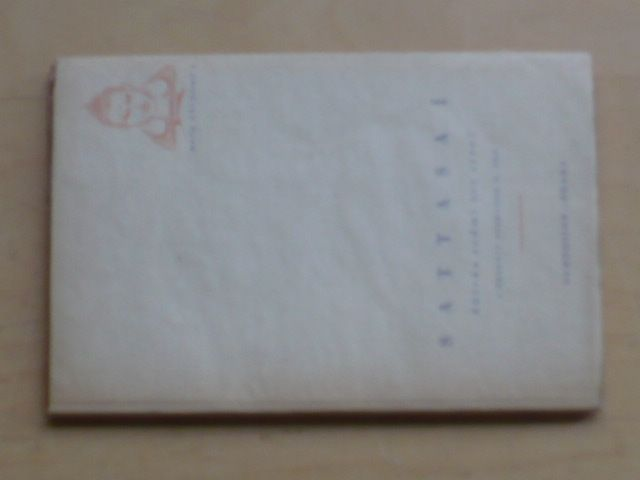 Sattasaí - Sbírka sedmi set strof (1947)