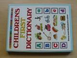 Childrens first dictionary (1990) anglicky - první dětský slovník
