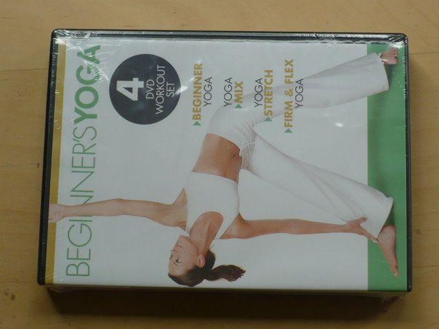 Beginners YOGA 2011 - 4xDVD - (Begginner, Mix, Stretch, Firm & Flex) Jóga