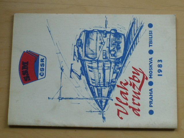Vlak družby Praha - Moskva - Tbilisi 1983